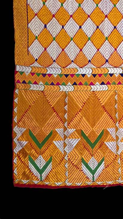 Phulkari Textile Bagh Embroidered Fine Inventory