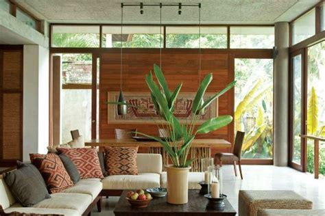 bali living room combining  dining room  living
