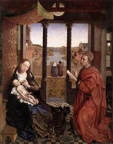Van Der Maiglöckchen : rogier van der weyden lukas schildert maria en jezus ~ Lizthompson.info Haus und Dekorationen