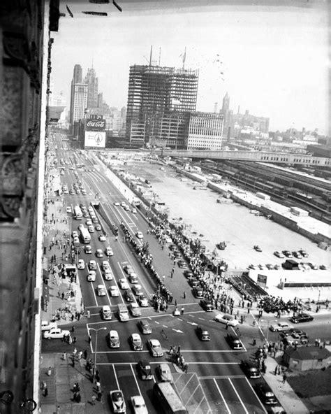 history of millennium park grant park in chicago monovisions
