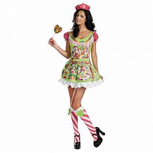 Candyland Sassy Deluxe Candy Girl Costume