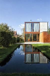 Haus Aus Glas : haus aus glas holz und beton kombiniert retrostil mit ~ Lizthompson.info Haus und Dekorationen