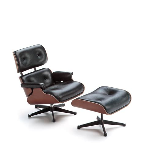 luxury lounge chair ottoman by charles eames