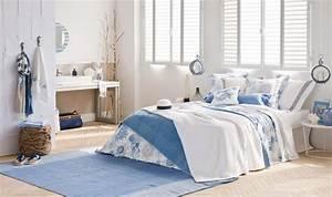 Decoration Chambre Style Marin : id es d co estivale de style marin pour une maison de ~ Zukunftsfamilie.com Idées de Décoration