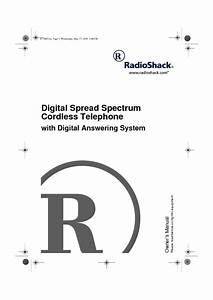 Digital Spread Spectrum Cordless Telephone With Digital