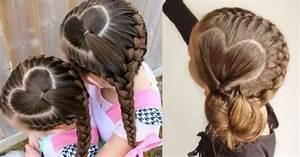 Coiffure Facile Pour Petite Fille : coiffure pour petite fille facile et mignonne mode islam ~ Nature-et-papiers.com Idées de Décoration
