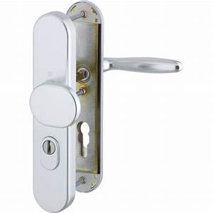 poignee blindee argent paliere bequille verona 70mm hoppe With poignee porte blindee