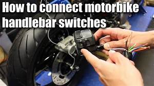 How To Connect Motorbike Handlebar Switches  Wiring Part 4