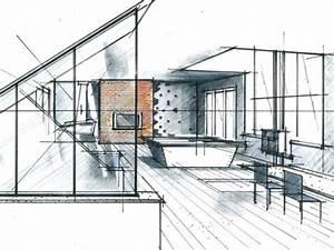 École Architecte D Intérieur : dessin architecture interieur ll57 jornalagora ~ Melissatoandfro.com Idées de Décoration