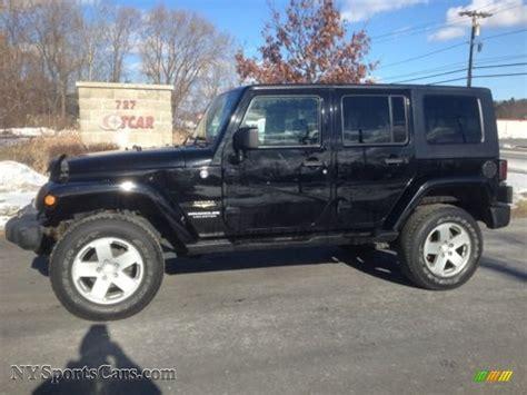 jeep sahara black 2008 jeep wrangler unlimited sahara 4x4 in black 515490