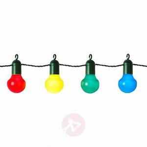 Guirlande De Photo : guirlande lumineuse festive elin color e 20 lampes ~ Teatrodelosmanantiales.com Idées de Décoration