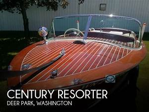 Classic 1958 Century Resorter Wood Boat Detail Classifieds