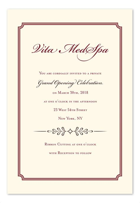 business party invitations designs templates