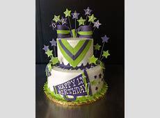 25+ best ideas about Cheerleader Cakes on Pinterest