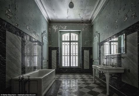 austrian photographer captures images  abandoned houses