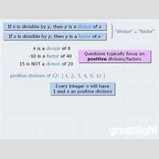 1 Gre Lesson Introduction To Divisibility Youtube