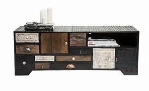 Meuble Vintage Pas Cher : id e meuble tv vintage ~ Teatrodelosmanantiales.com Idées de Décoration