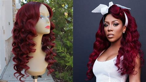 Color Hair Red Without Bleach| K Michelle Inspired