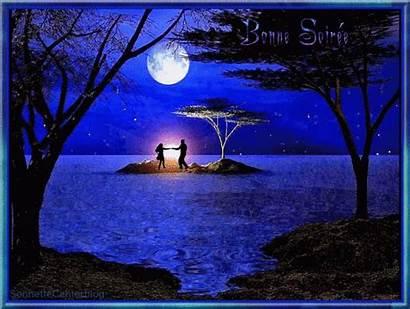 Luna Moonlight Night Dancing Under Noches Buenas