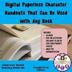 Many Schools Are Going 11 And Are Trying To Have Paperless Classrooms My Digital Character