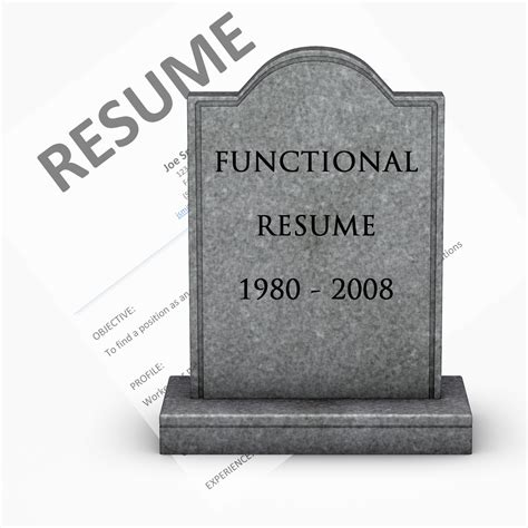 Resume Place by The Functional Resume Is Dead The Resume Place