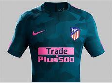 Atlético Madrid 201718 Nike Third Kit – FOOTBALL FASHIONORG