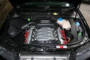 Engine Detailing  2004 Audi S4