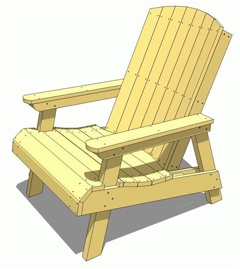 how to build adirondack lawn chair pdf plans how to build