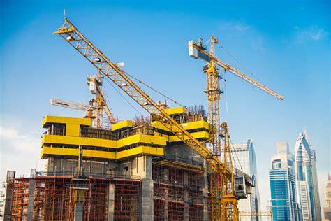 Construction Site In Dubai Stock Photo - Download Image ...