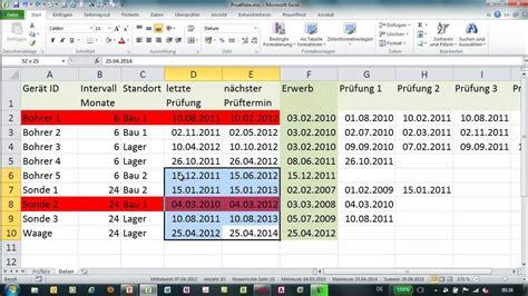 excel bedingte formatierung mit funktion werkzeugliste