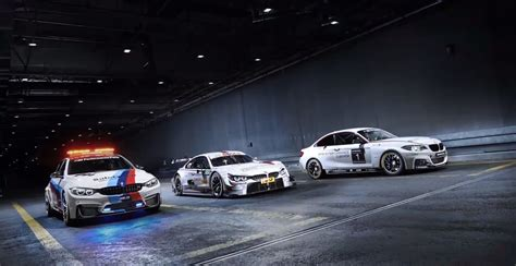 Bmw M4 Safety Car Dtm Car And M235i Racing Come Together
