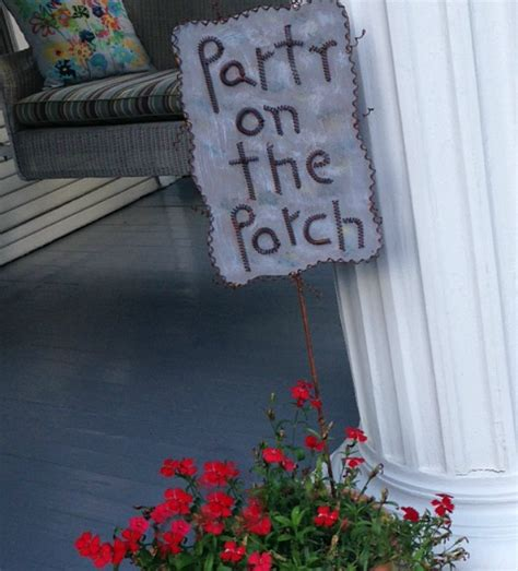 host  southern porch party grace grits  gardening