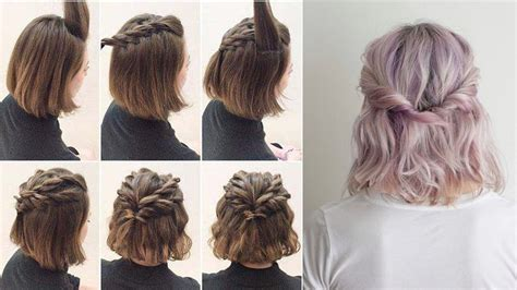 Half Hairstyles by Easy Half Up Hairstyles For Hair Tutorial