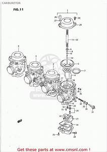 Suzuki Gsx-r750 W 1993-1995  Usa  Carburetor