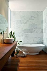 le meuble de salle de bains en teck archzinefr With plancher teck salle de bain