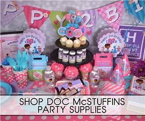 Doc McStuffins Party Supplies