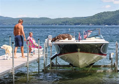 Boat Lift Pics by Boat Lifts Rcg Boat Lifts Dock Doctors Ultimate Boat Lift
