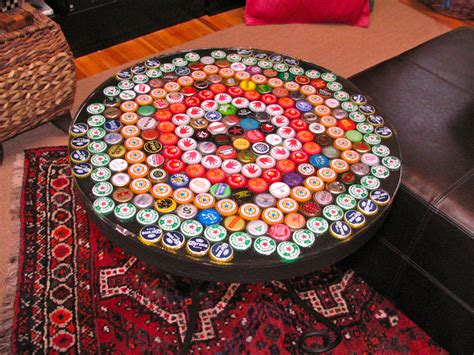 beer cap table epoxy bottle cap table with poured resin surface 9 steps with
