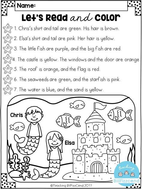 free reading comprehension activities grade 1