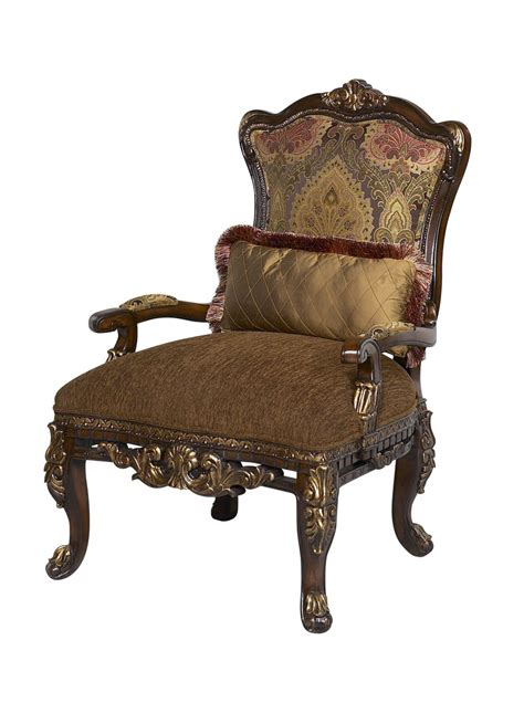 sicily wood trim accent chair usa furniture