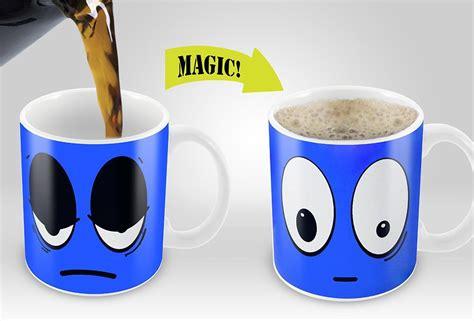 Gift this exclusive coffee mug to your friends tanga's deal of the week: Magic Coffee Mugs Travel Mug Heat Sensitive Color Changing Stainless Steel Coffee Mug Good Gift ...