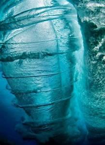 An underwater yes underwater tornado water spout like OMG ...