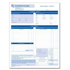 printable business form  write   estimate