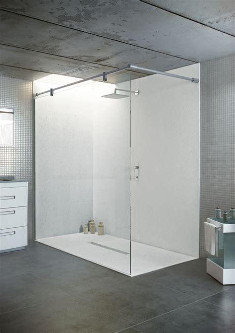 Bodengleiche Dusche Ohne Tür by Bodengleiche Duschwanne Mit Duschrinne 120x75 Aus