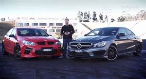 Mercedes Gap : the cla 45 amg vs hsv gts at the drag strip was done by drive autoevolution ~ Gottalentnigeria.com Avis de Voitures