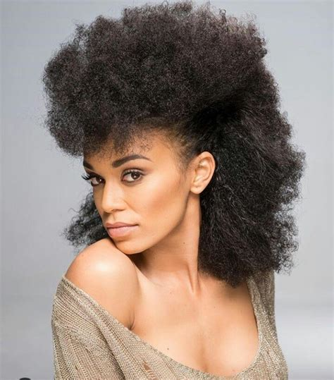 Wash And Go Natural Hairstyles