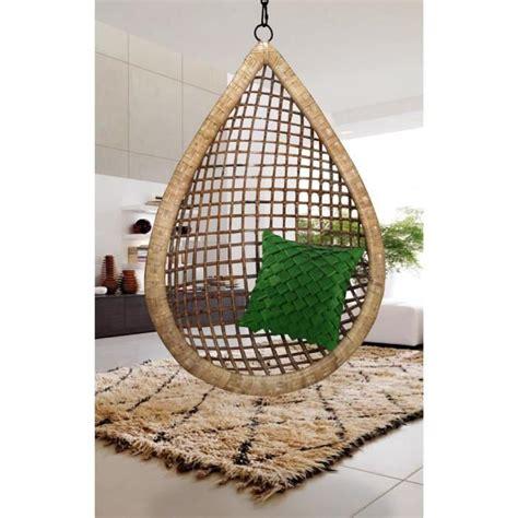 cdiscount canapé fauteuil suspendu bamboo fait forme goutte d 39 eau