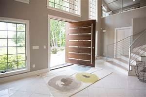 portes principales bois dootdadoocom idees de With porte d entrée alu avec revetement mural de salle de bain