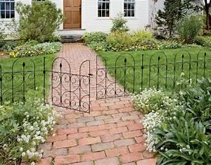 Gartenzäune Aus Metall Günstig : gartenz une aus metall bringen mehr stil in den au enbereich ~ Lizthompson.info Haus und Dekorationen