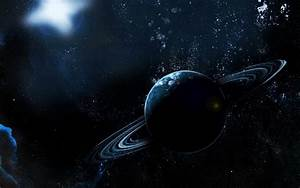 Planet With Rings Wallpaper Designs 15018 - Amazing Wallpaperz